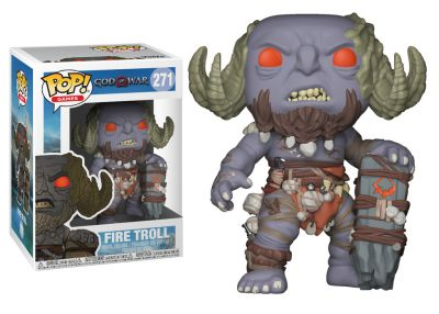 God of War - Fire Troll