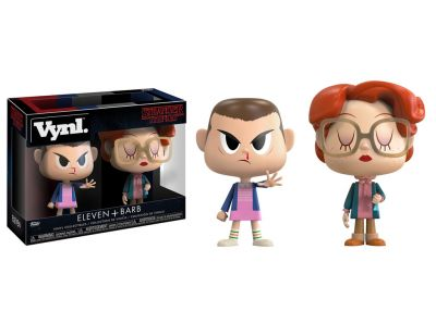 Stranger Things - Eleven & Barb