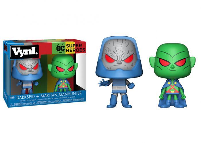 DC - Darkseid & Martian Manhunter