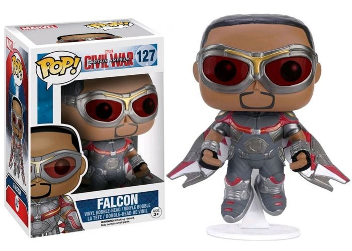 Kapitan Ameryka: Wojna bohaterów - Falcon