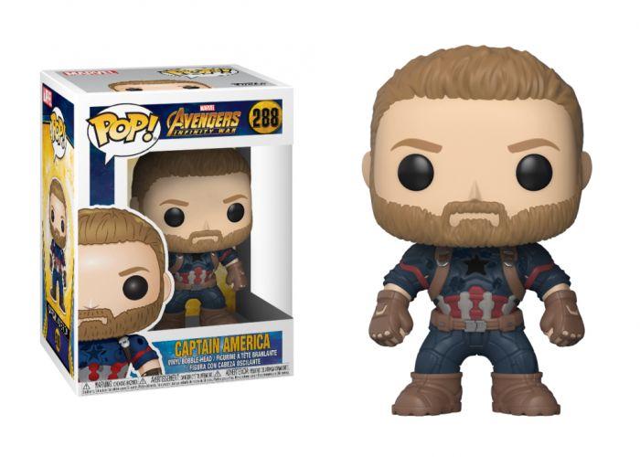 Avengers: Wojna bez granic - Kapitan Ameryka