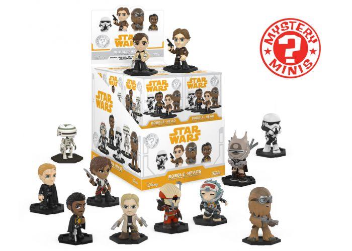 Gwiezdne Wojny: Han Solo - Mystery Minis w ciemno