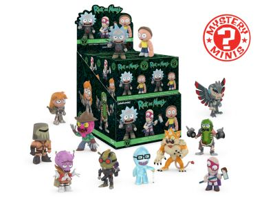 Rick and Morty - Mystery Minis w ciemno
