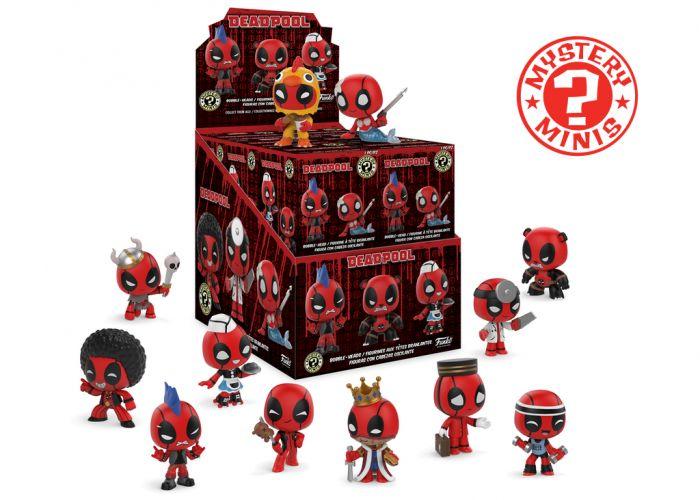 Deadpool - Mystery Minis w ciemno