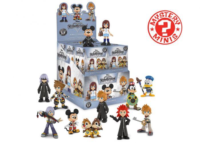 Kingdom Hearts - Mystery Minis w ciemno