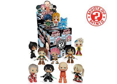Kultowe anime - Mystery Minis w ciemno