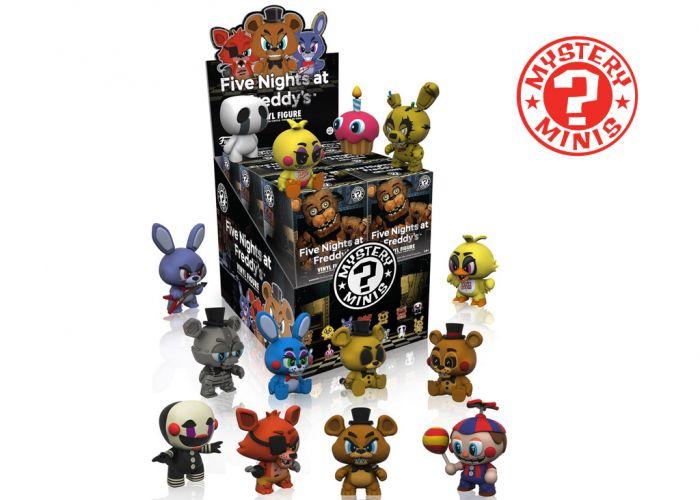 Five Nights At Freddy's 2 - Mystery Minis w ciemno