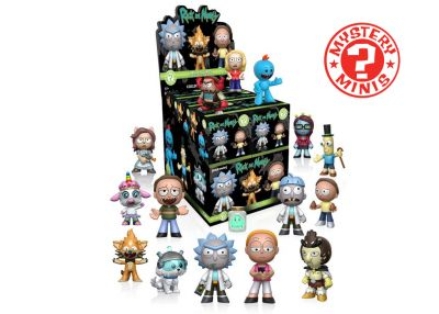 Rick and Morty 2 - Mystery Minis w ciemno