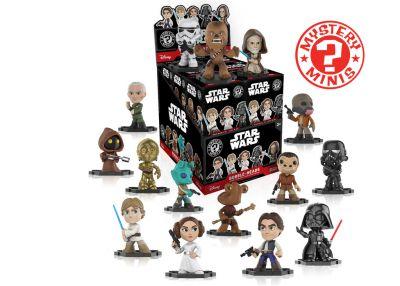 Star-Wars - Mystery Minis w ciemno