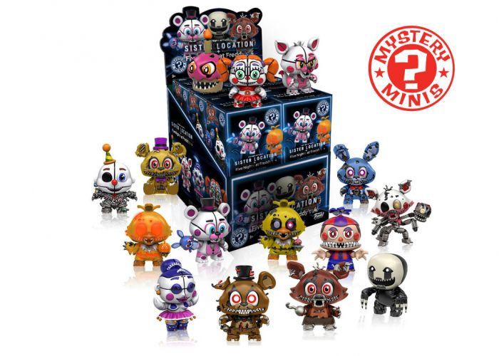 Five Nights At Freddy's 4 - Mystery Minis w ciemno