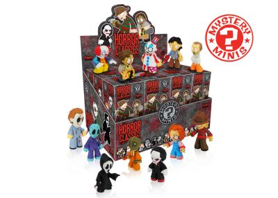 Kultowe horrory 3 - Mystery Minis w ciemno