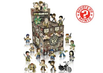 The Walking Dead - Mystery Minis w ciemno