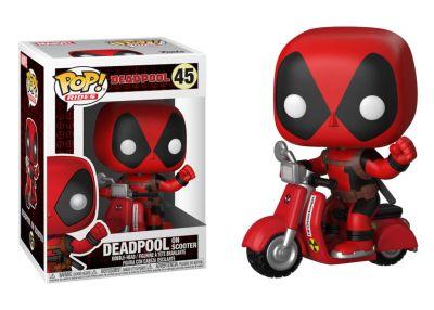 Deadpool - Deadpool na skuterze