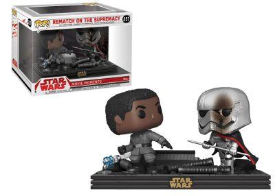 Gwiezdne Wojny: Ostatni Jedi - Finn & Kapitan Phasma
