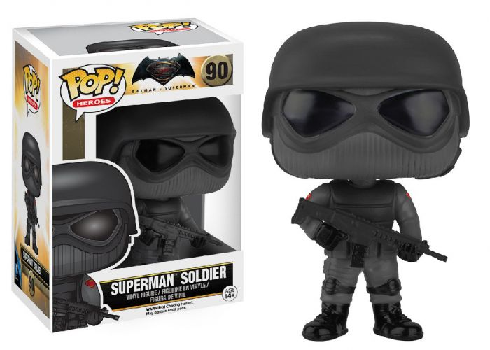 Batman v Superman - Superman Soldier