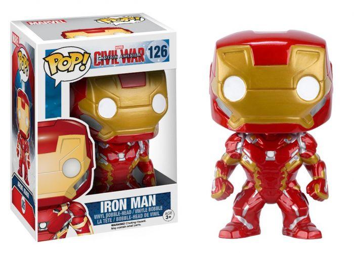 Kapitan Ameryka: Wojna bohaterów - Iron Man