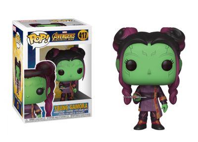 Avengers: Wojna bez granic - Młoda Gamora