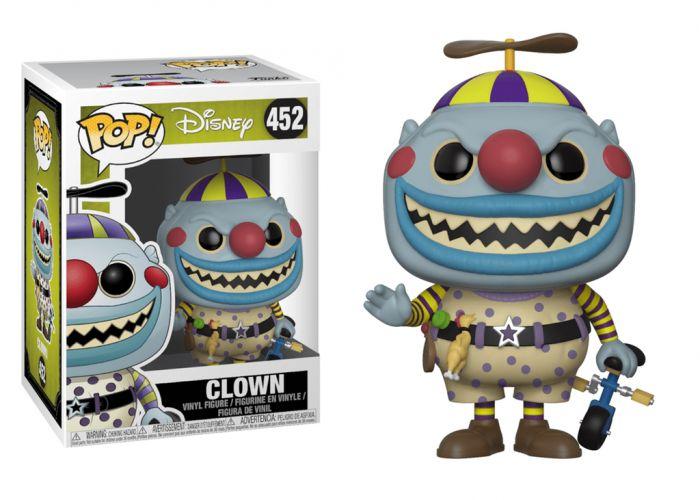 Miasteczko Halloween - Clown