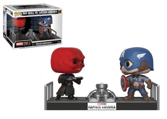 MARVEL - Kapitan Ameryka & Red Skull