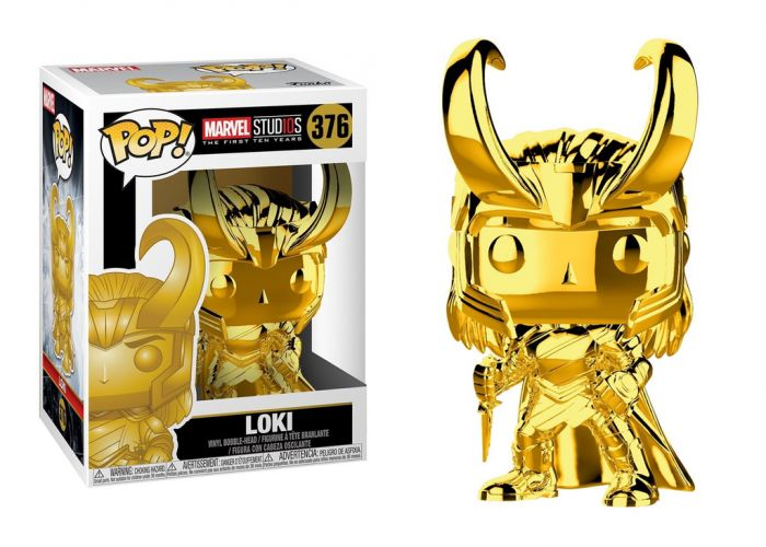 10lecie MARVEL - Loki (Chrome)