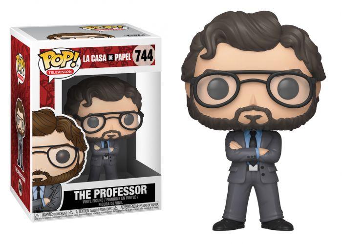 Dom z papieru - Profesor