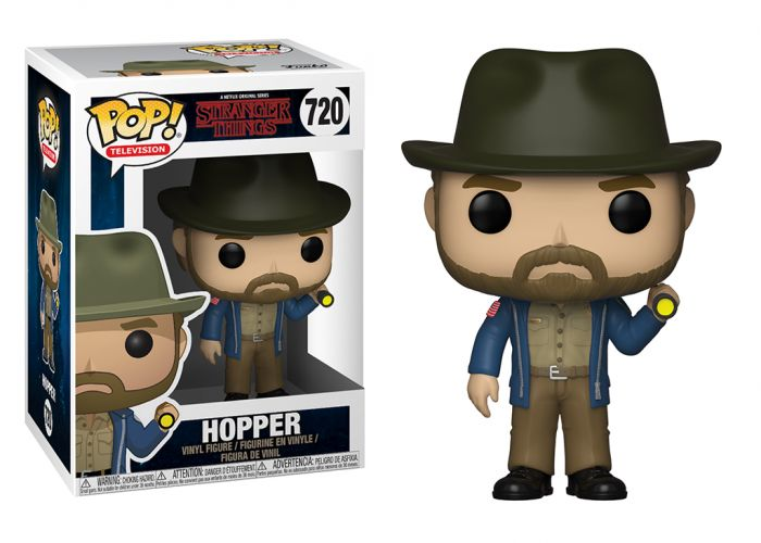 Stranger Things - Hopper 4