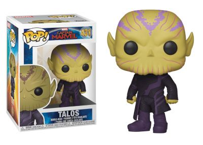 Kapitan Marvel - Talos