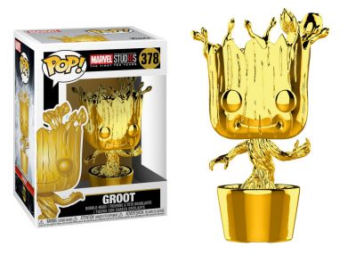10lecie MARVEL - Groot (Chrome)