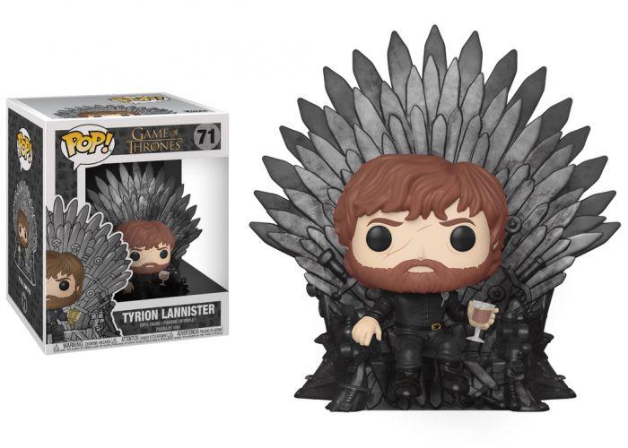 Gra o Tron - Tyrion na tronie