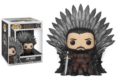 Gra o Tron - Jon na tronie