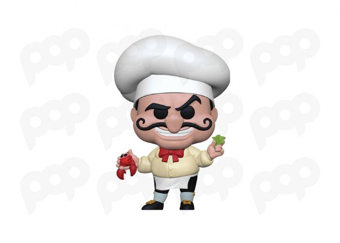 Mała syrenka - Chef Louis