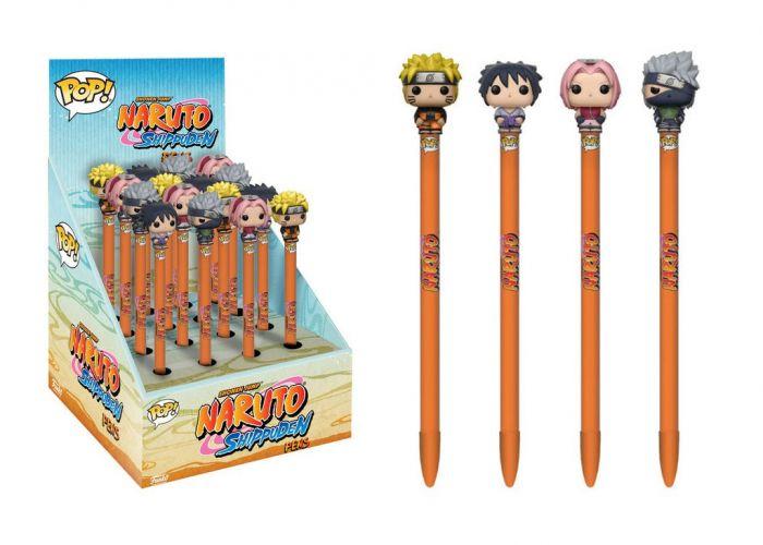 Naruto - Długopisy w ciemno