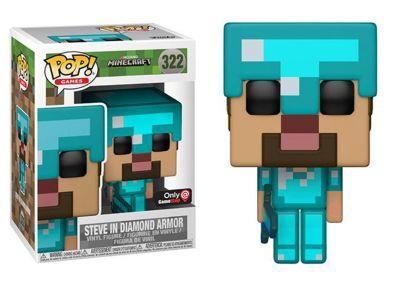 Minecraft - Steve in Diamond Armor