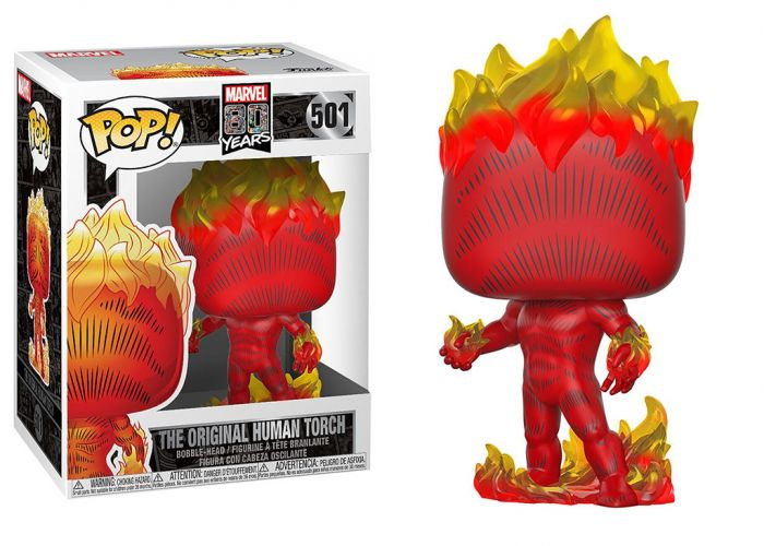 80 rocznica MARVEL - Human Torch