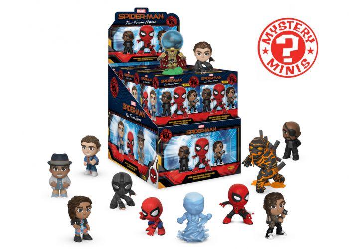 Spider-Man: Daleko od domu - Mystery Minis w ciemno
