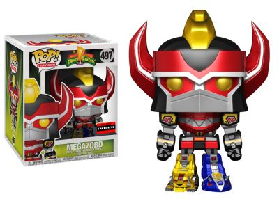 Power Rangers - Megazord (Metallic)