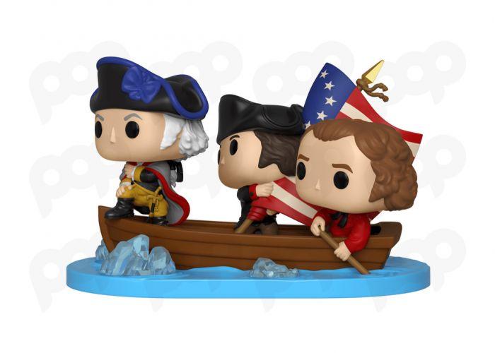 Historia USA - Washington na łodzi