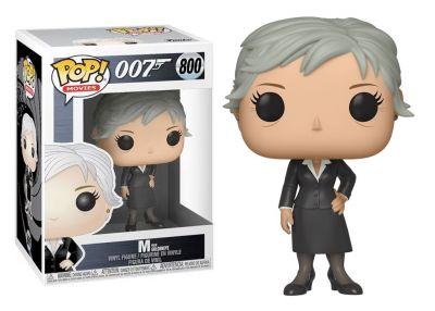 James Bond - M