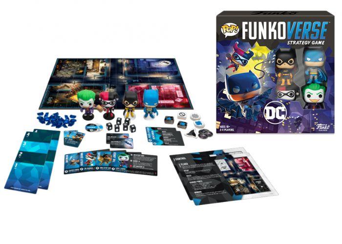 Gra planszowa Funkoverse - DC (4 graczy)