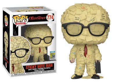 Życie biurowe - Sticky Note Man