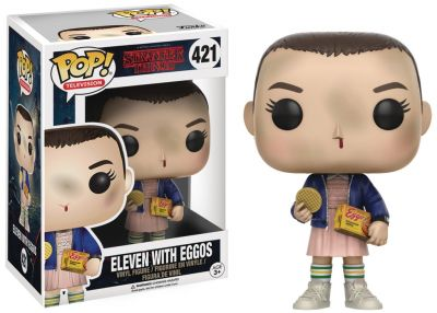 Stranger Things - Eleven z Eggos