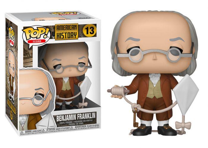 Historia USA - Benjamin Franklin