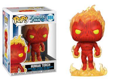 Fantastyczna Czwórka - Human Torch