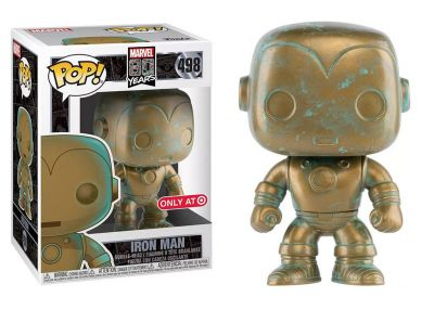 80 rocznica MARVEL - Iron Man (Patina)