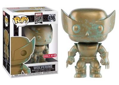 80 rocznica MARVEL - Wolverine (Patina)