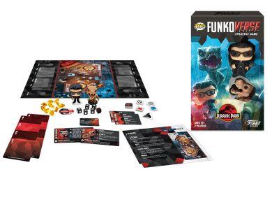 Gra planszowa Funkoverse - Jurassic Park  (2 graczy)