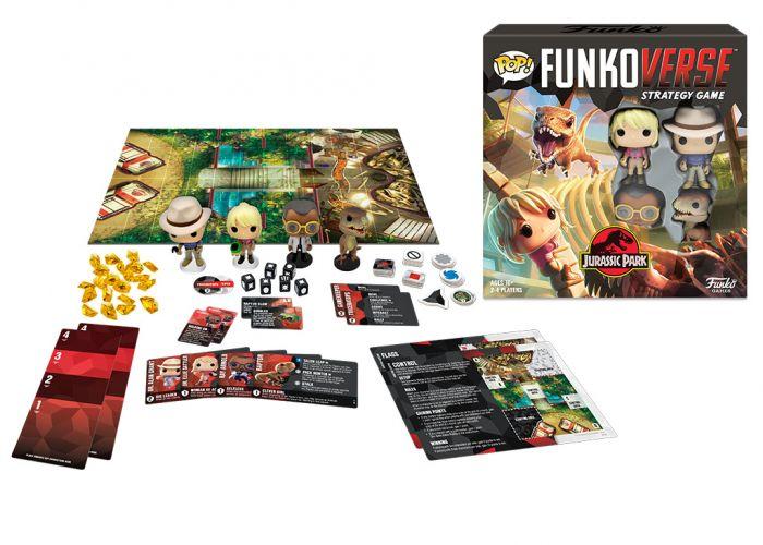 Gra planszowa Funkoverse - Jurassic Park  (4 graczy)