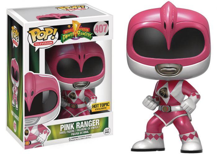 Power Rangers - Różowa wojowniczka
