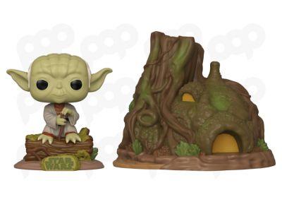 Gwiezdne Wojny - Yoda & domek