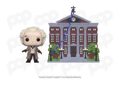 Powrót do przyszłości - Dr. Emmett Brown & wieża zegarowa